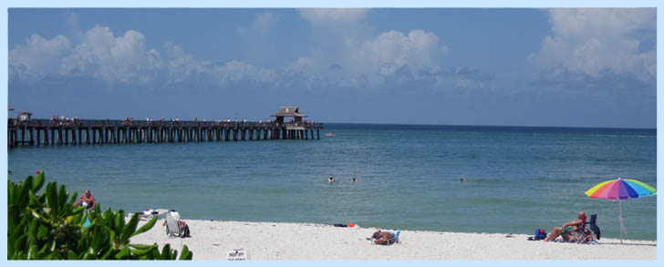 Naples Florida Pier and Beach